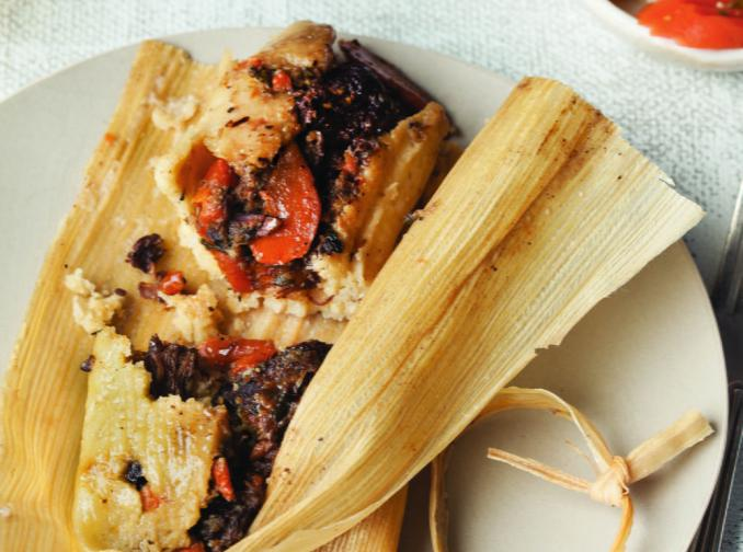 Beef Cheeks and Wine Tamales | Cookstr.com