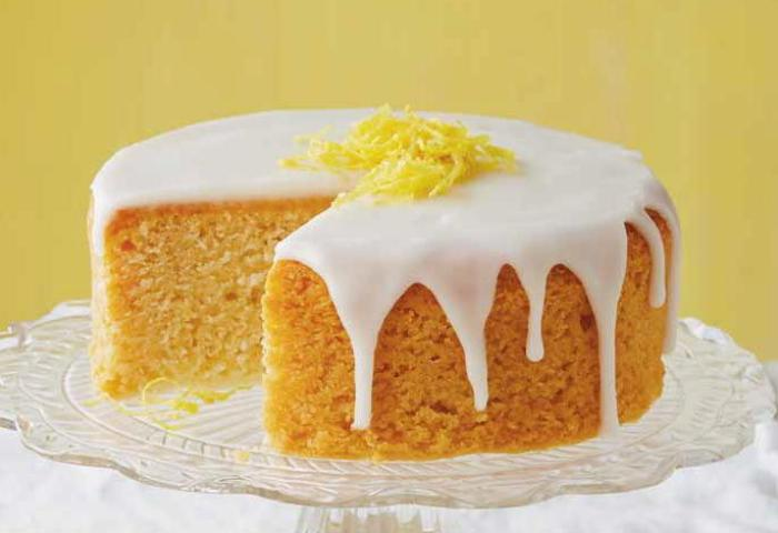 French Lemon Cake With Lemon Glaze Cookstrcom