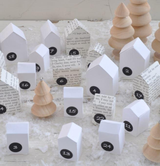 24 Paper Christmas Decorations And Other Christmas Paper