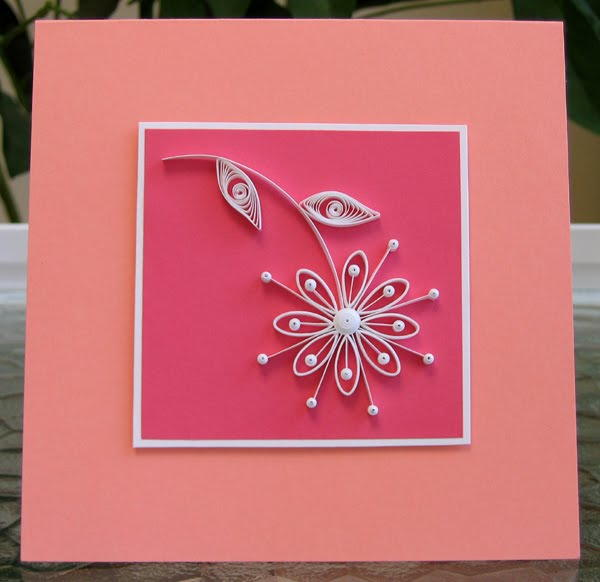 Image result for simple card quilling