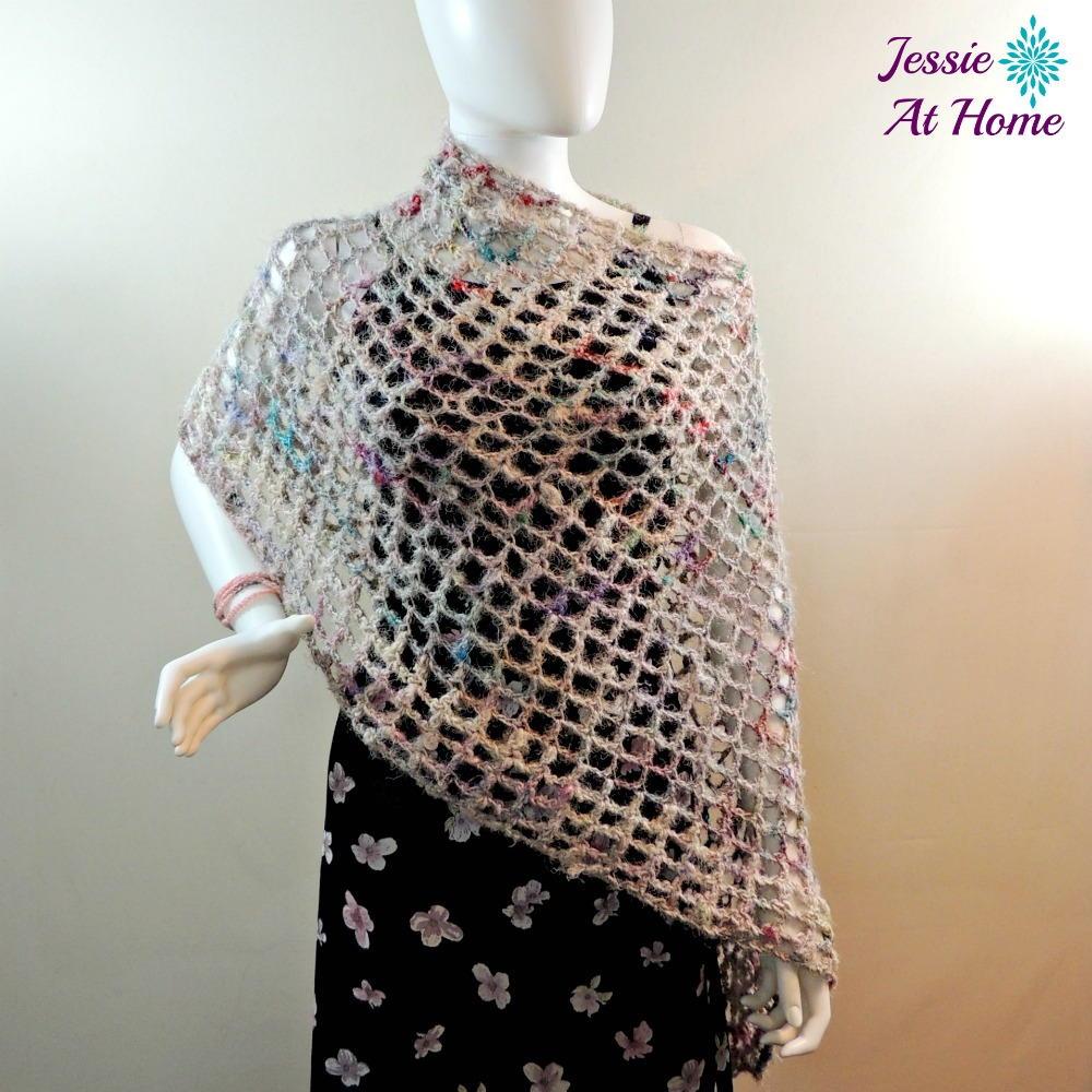 Easy Crochet Baby Poncho