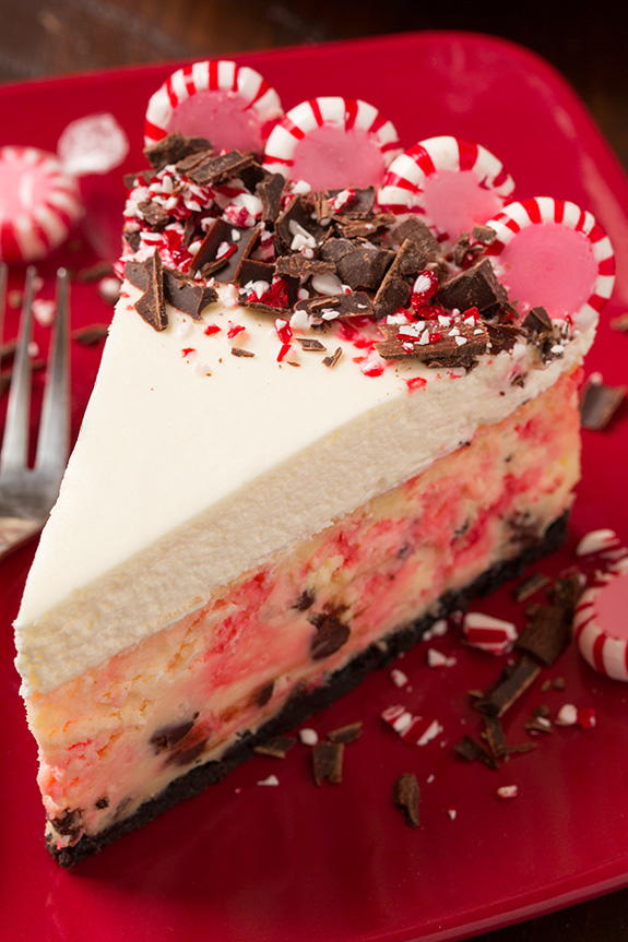 Peppermint Bark Cheesecake Recipelion Com