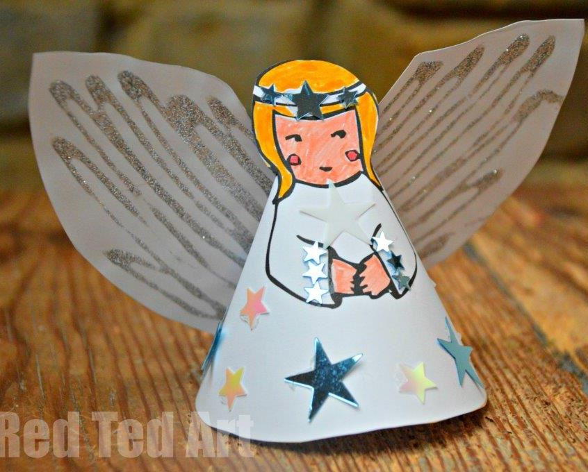 Starla The 3D Printable Paper Angel
