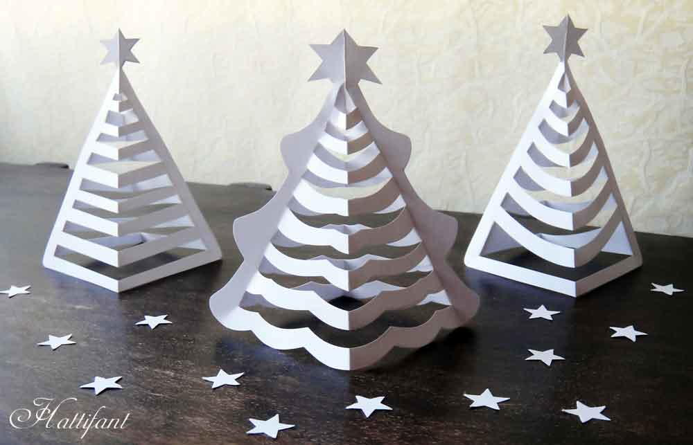 Decorating Christmas Trees Using Metal
