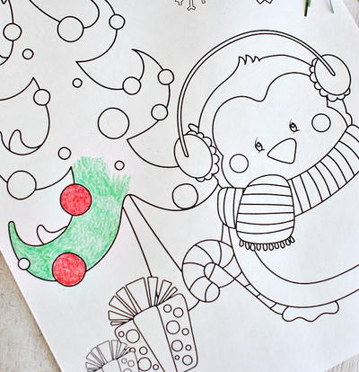 when they are christmas themed these printable christmas coloring