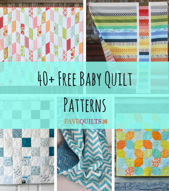 40 Free Baby Quilt Patterns