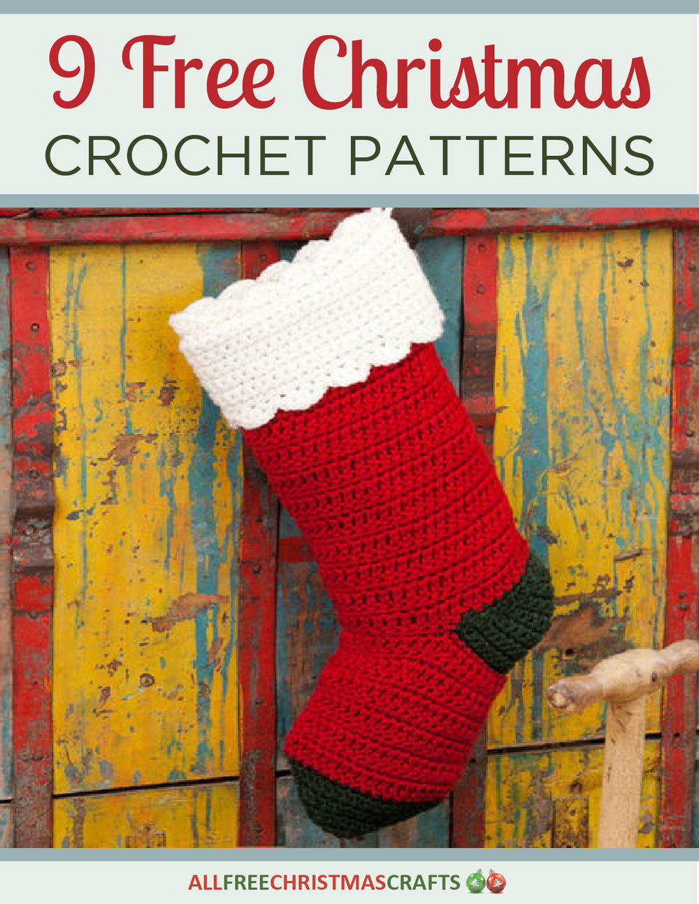 9 Free Christmas Crochet Patterns Free EBook