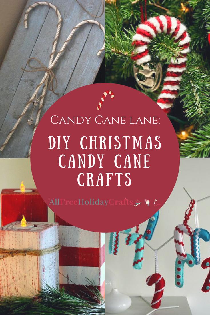 Candy Cane Lane 28 DIY Christmas Candy Cane Crafts