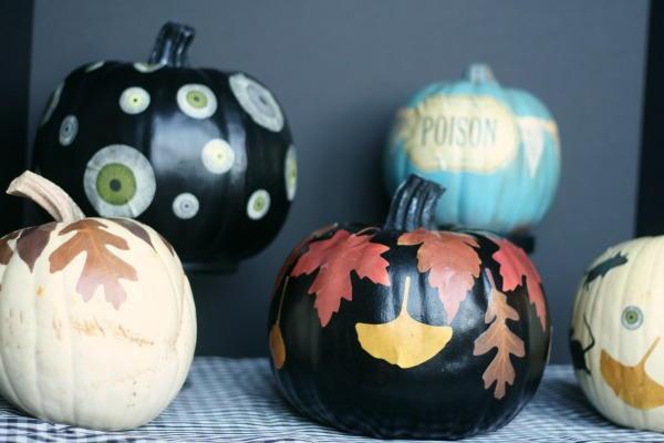 Decoupage Pumpkin Halloween Ideas
