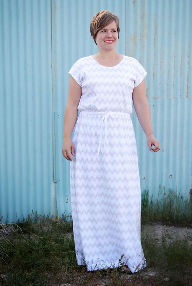 Trendy Mama Maxi Dress Pattern Allfreesewing Com