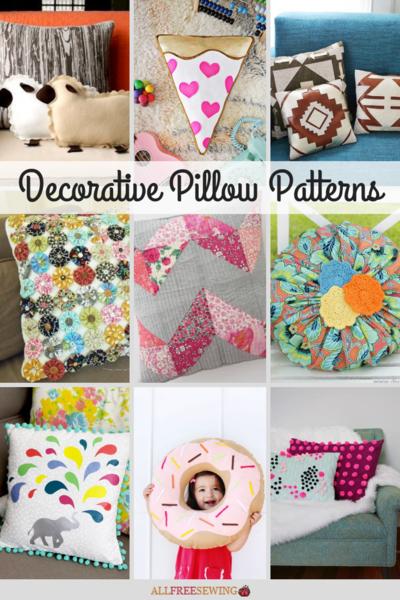 60 decorative pillow patterns