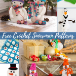 66 Free Crochet Snowman Patterns Allfreecrochet Com
