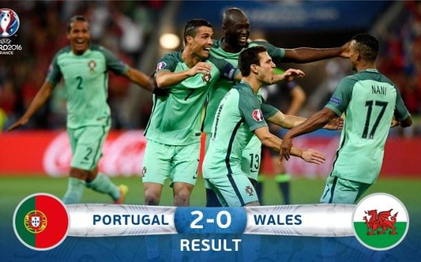 Portugalia, prima finalistă de la EURO 2016