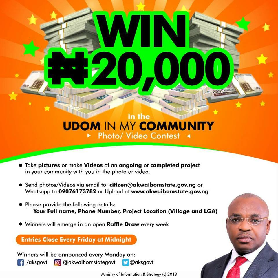UDOM IN MY COMMUNITY