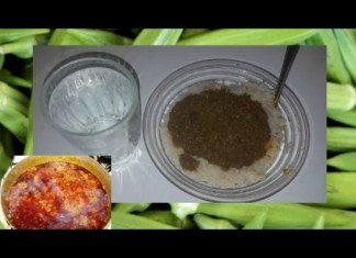 HOW TO COOK : SIERRA LEONE FRY OKRA SOUP WITH RED PLAM OIL
