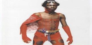 Ibrahim Kamara, Sierra Leone born British Stylish showcasing his Masculinity