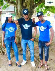 i rep salone colored t shirt group