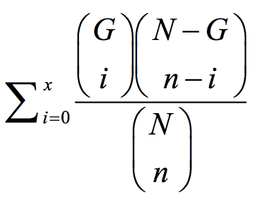 hypergeometric