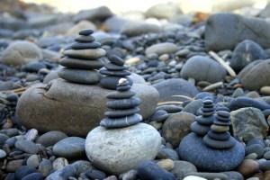 towers of rocks