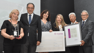 São Paulo State Highway Authority wins the Evonik Road Safety Award 2018