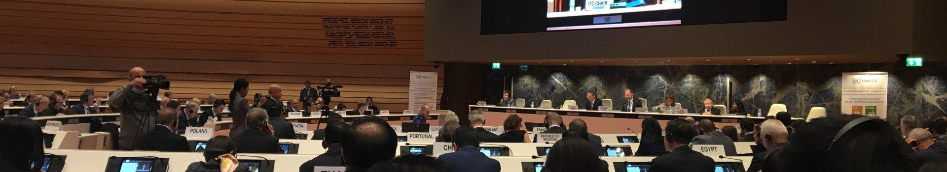 IRF addresses automation in transport at UN Inland Transport Committee