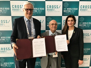 MoU and Action Plan signed with the Transportation Research Board (TRB)
