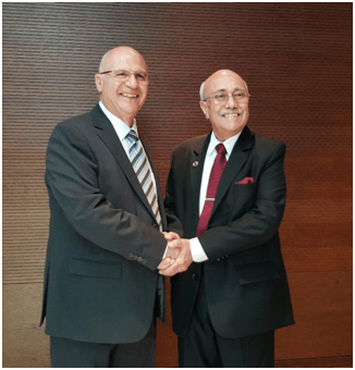IRF General Assembly elects Bill M. Halkias as IRF President