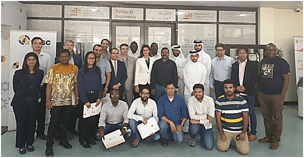 Work Zone Safety Course in Doha certifies a new group of engineers