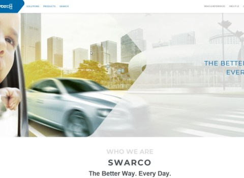 SWARCO Relaunches Website