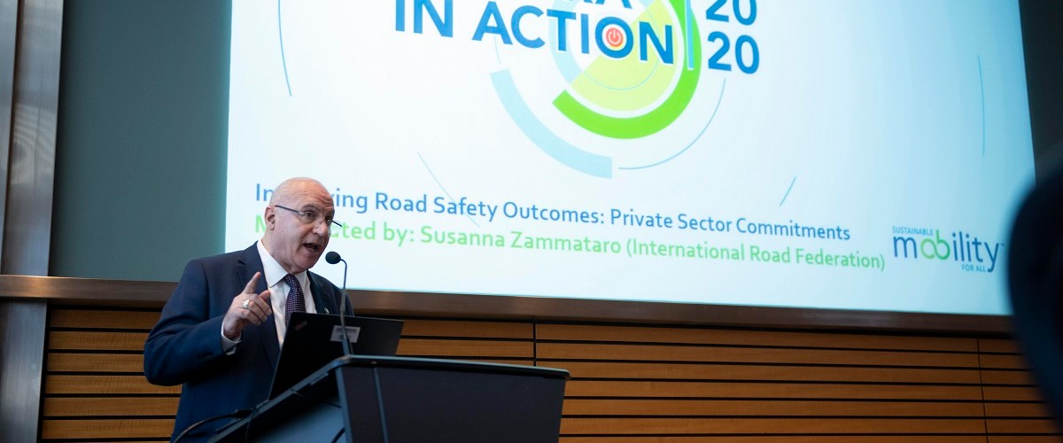 Private Sector lays out the way for improving Road Safety