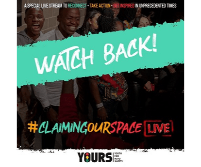 #ClaimingOurSpace Live! Watch back and get ready for the Coaliton