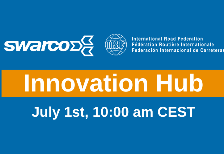 Swarco to host IRF DG at next Innovation Talk