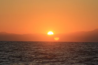 Sunrise over Puerto Vallarta 10 nm out