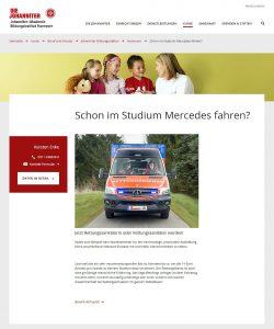 Webseite Johannitr ohne SEO