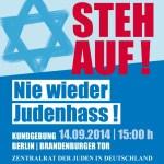 Gedanken zur Kundgebung heute am Brandenburger Tor