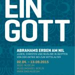 "Ausstellungsrundgang: ""Ein Gott – Abrahams Erben am Nil"""