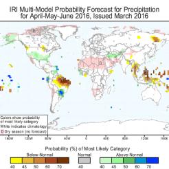 April-June 2016 Seasonal Forecast