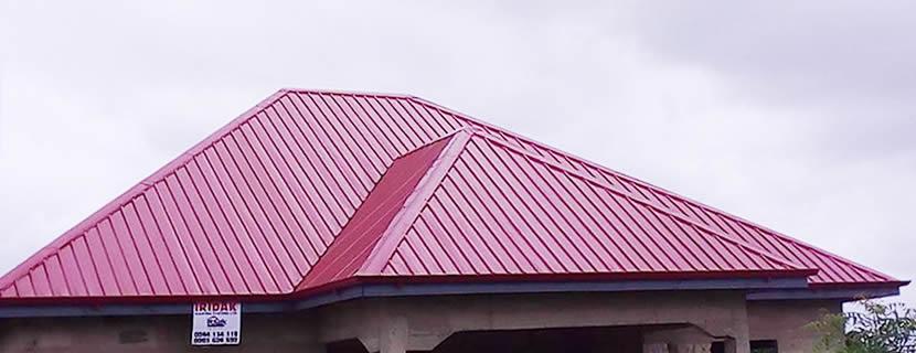 Iridak Roofing Systems Ltd Iridak Inverted Box Rib Ibr