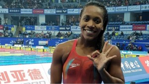 Jamaica's double world record holder Alia Atkinson