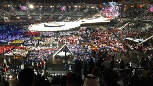 Opening Ceremony marks offcial start of Special Olympic World Games