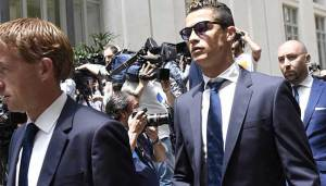 Cristiano Ronaldo expected back in Madrid next Tuesday to attend a trial for tax evasion