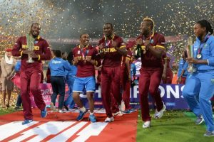 Windies begin World T20 defense against New Zealand