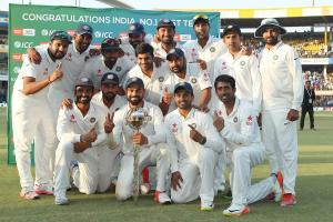 India ends on top ICC rankings as at Cut off date