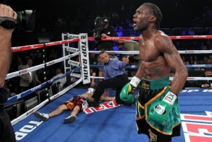 "Nicholas ""The Axe Man"" Walters' next fight in jeoprady"