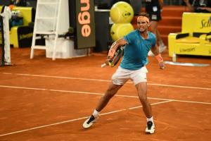 Rafael Nadal demolished Stan Wawrinka in straight sets to reach the semi-finals of the Madrid Open