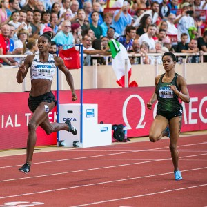 Bahamian Shaunae Miller-Uibo set a new 300metres world record
