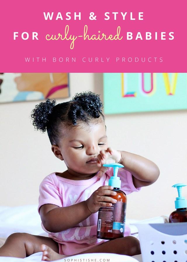 baby natural hair: wash day with born curly · natural hair