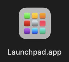 Launchpadのアイコン