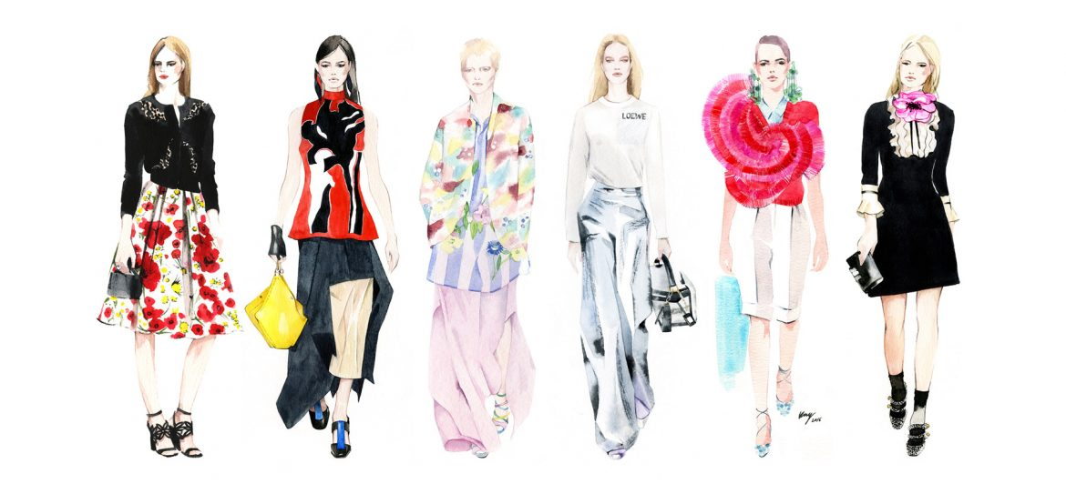 Fashion Illustration     Irina Kay Watercolor Fashion illustration by Irina Kay