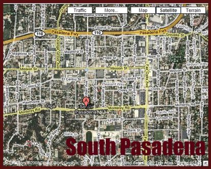 south pasadena map     Pasadena Views Real Estate Team south pasadena map